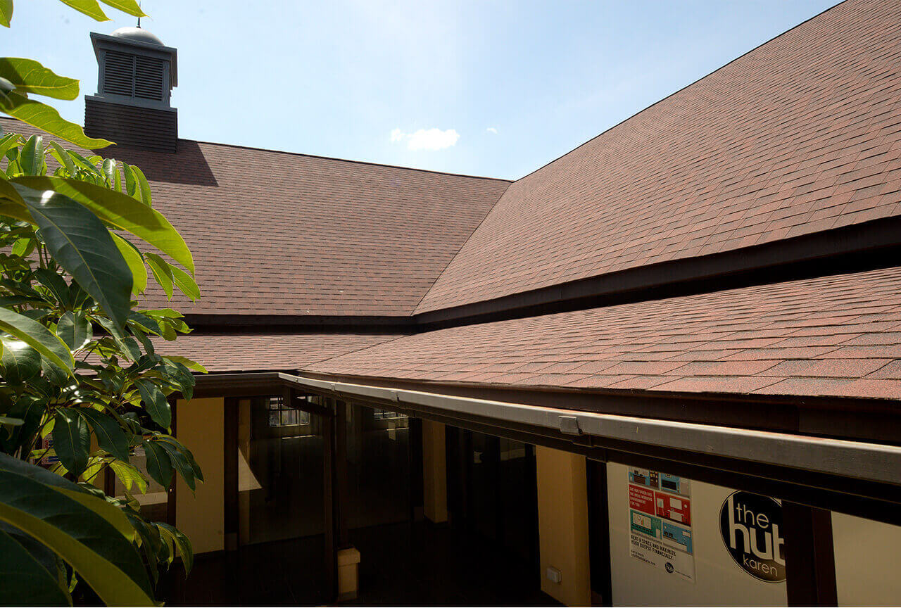 Roofing Shingles Project: The hub Karen Mall
