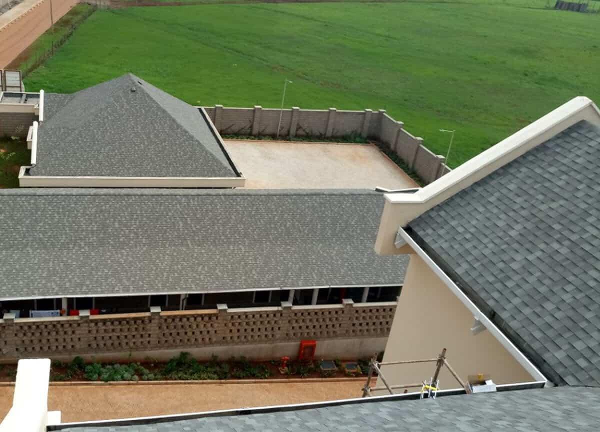 Roofing Shingles Projects: Brookhouse Runda Kenya