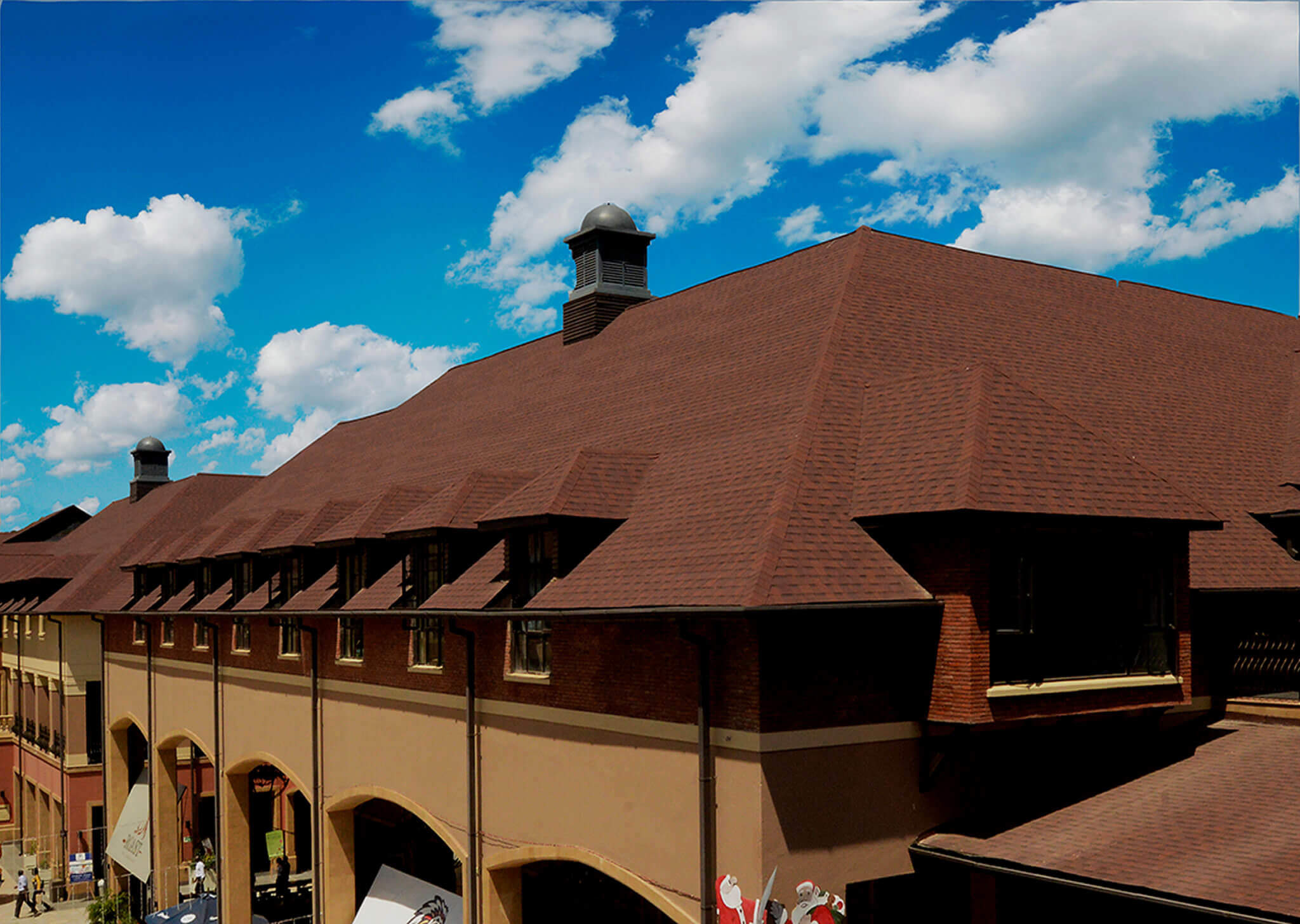 The Hub: Shingles Roofing Project