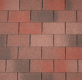 Armourglass Roofing Shingles: Flaming Red