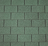 Armourglass Roofing Shingles: Forest Green