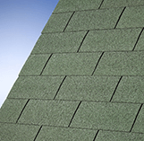 Superglass Roofing Shingles: Forest Green