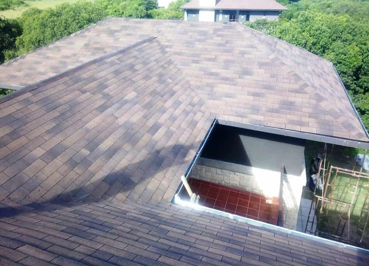 Superglass Roofing Shingles Project: Olpajeta, Nanyuki