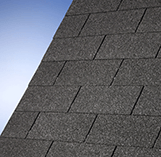 Superglass Roofing Shingles: Sparkling Black