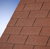 Superglass Roofing Shingles: Tile Red