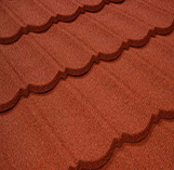 Stone Coated Tiles: Tile Red