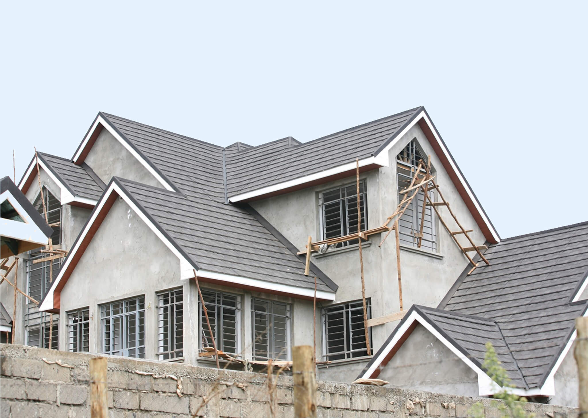 Modern Stone Coated Roofing Tiles