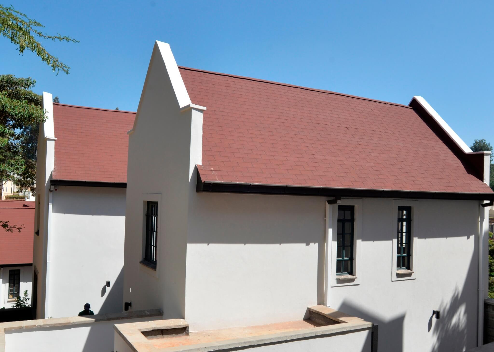Superglass Roofing Shingles: Runda Roofing Project