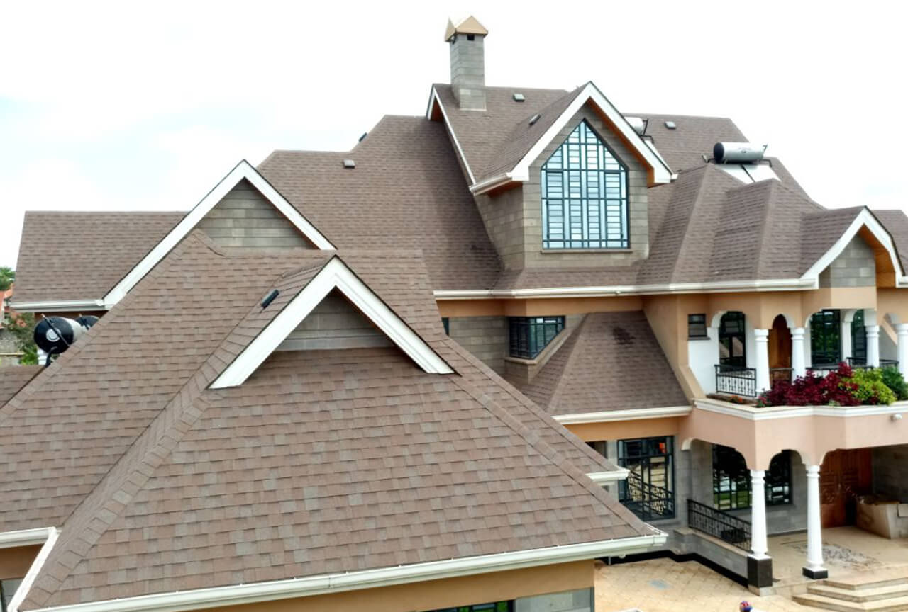 Residential projects: Cambridge Xpress Aged Redwood shingles